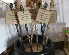 large handmade party favours 30cm Harry Potter Inspired wizard//fairy wands