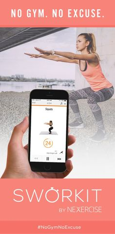 """It's like """"Spotify for Video Workouts"""". Specify the exact time you have to workout and just follow along with your OWN music. Skip any exercise you can't do. Don't waste time searching... """"Simply work it"""" #NoGymNoExcuse"""