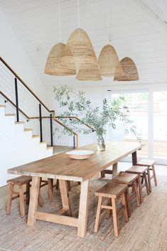 Malibu and Eco Decor Natural Eclectic Boho Rattan Pendant Light Woven Natural Delicate Straws Lamp Chandelier Woven Chandelier - Beach House Hotel, Beach House Decor, Home Decor, Beach Houses, Rattan Lampe, Wicker Lamp Shade, Design Scandinavian, Rattan Pendant Light, Pendant Lights