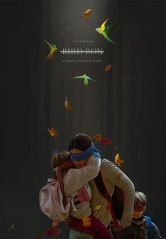 Bird Box is a 2018 thriller film directed by Susanne Bier. Best Movies Now, Best Horror Movies, Classic Horror Movies, Good Movies, Minimal Movie Posters, Horror Movie Posters, Mystery Film, Digital Film, Music Covers