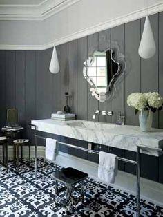 ART DECO ACCESSORIES | Modern Bathrooms, Stylish Bathroom Decorating in Art Deco Style