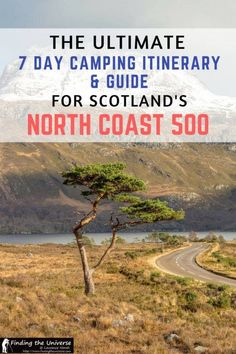 Looking to drive Scotland's North Coast 500 route? This detailed guide to camping on the North Coast 500 has a full seven day itinerary, suggestions on campsites, an route map and loads of suggestions to ensure you have an awesome road trip! Scotland Road Trip, Scotland Travel, Camping Scotland, Scotland Tours, Glasgow Scotland, North Coast 500 Scotland, Scottish Tours, Scottish Highlands, Uk Campsites