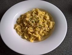Oma's Krautfleckerl - Rezept - ichkoche.at Risotto, Grains, Veggies, Pasta, Ethnic Recipes, Irene, Foods, Chef Recipes, Food Prep