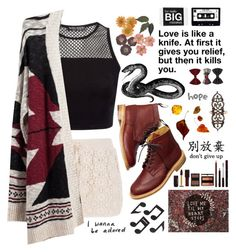 """Love is like a knife. At first it gives you relief but then it kills you"" by queenoflove2015 ❤ liked on Polyvore"