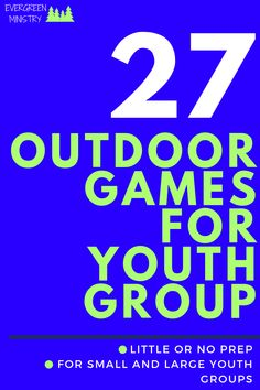 27 awesome outdoor games for youth group. Most games have no prep and no supplies. All of these games can be for small to large youth groups. Youth Group Activities, Group Games For Kids, Youth Group Games, Youth Groups, Outdoor Games For Children, Outdoor Youth Games, Kids Church Games, Youth Ministry Games, Youth Group Lessons
