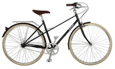 NEW! The Mixte 3 is now available in Black + Cream tires!