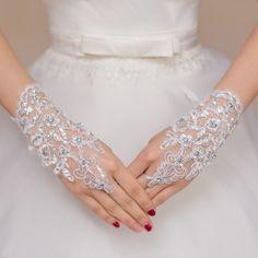 White or Ivory Short Wedding Gloves Fingerless Bridal Gloves for Women Bride Red Lace Gloves Luva De Noiva Wedding Accessories Bride Gloves, Wedding Gloves, Lace Gloves, Fingerless Gloves, Lace Bride, Bridal Lace, Wedding Lace, Wedding White, Bridal Gown