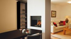 A simple yet elegant double sided fireplace, the 840 Tunnel gives a two sided view allowing the flames to be enjoyed from both sides. Ideal for creating a cosy feature in between two separate rooms or for forming a feature to separate a large open space, the beauty of a double sided fireplace such as …