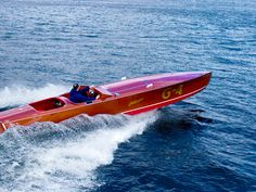 John Hacker spent 6 decades designing some of the most beautiful mahogany speed boats the world has ever seen, he invented the now ubiquitou...