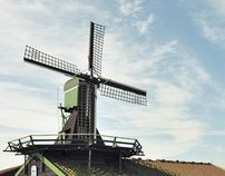 """Check out new work on my @Behance portfolio: """"Amsterdam and Windmills"""" http://on.be.net/KJFIC7"""