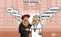 Dilma em foto oficial com o Papa Francisco - Pensamento não tem voz!