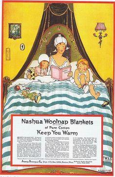Nashua Woolnap Blankets