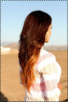 Ombre hair omg<333