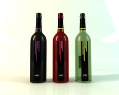 Wine labels by Héctor del Amo, via Behance