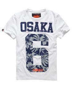 Superdry Osaka Hibiscus T-shirt