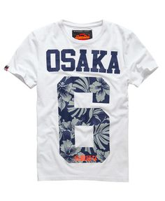 Óptico Superdry Camiseta Osaka Hibiscus