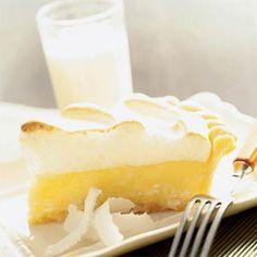 Pie-O-Neer Coconut Cream Meringue Pie | MyRecipes.com