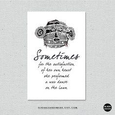 4x6 photographics  sometimes  4x6 art cards  by scribbleandtweak