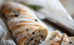Recipe for Twisted Olive Bread - serve with your favourite toppings or some delicious soup. Olive Bread, Roasting Tins, Loaf Recipes, Baking Sheet, How To Make Bread, Cooking Classes, Recipe Of The Day, Free Food, A Food