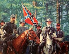 Stonewall Jackson & General Lee