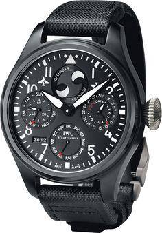 IWC Big Pilots Watch Perpetual Calendar #Watch