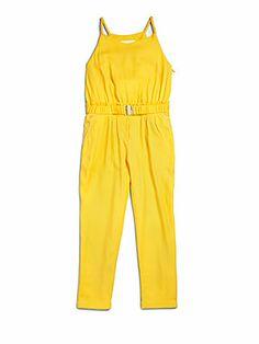 3211ccaa563d Chloé - Toddler s   Little Girl s Woven Jumpsuit