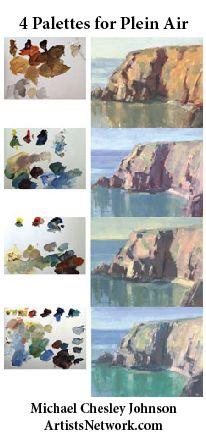 Basic considerations when selecting a plein air palette | ArtistsNetwork.com #painting #PleinAir #palettes #color #landscapes #art