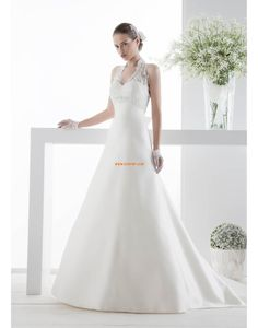 19a64375 A-linje Sateng Blonde Brudekjoler 2014 Italian Wedding Dresses, Wedding  Dresses 2014, Cheap