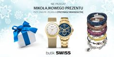 Odwiedź butik SWISS Aleja Bielany w dniach 1-6 grudnia a przy zakupie zegarka otrzymasz Mikołajkowy prezent. Zapraszamy