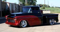 Custom Pickup Trucks 1955 Chevy Pickup Truck Custom