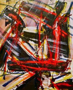 'Twas the Night before Christmas - bag 1 - 20x24 inches  click visit to buy on www.shawnshawn.co #art #painting #artist #shawnshawn #metal #mayhem