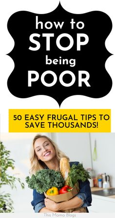 Save thousands in 2020 using these simple frugal living tips! Save money on food, utility bills, entertainment, shopping and more! Money Saving Meals, Save Money On Groceries, Money Savers, Frugal Living Tips, Frugal Tips, Minimalist Living Tips, How To Be Rich, Living Below Your Means, Teen Money