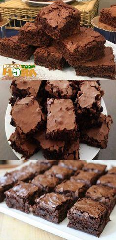 Just Desserts, Dessert Recipes, Caramel Brownies, I Love Chocolate, Yummy Cookies, Brownie Recipes, Eat Cake, Fudge, Sweet Recipes