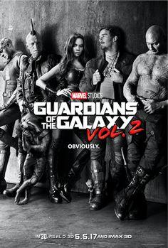 Guardians of the Galaxy Vol.2. (2017) Ideal para analizar diferentes enfoques de la soledad, la diferencia entre seguir las reglas y hacer lo correcto, etc.