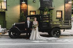 Industrial Glam Brooklyn Wedding | Dress: Carol Hannah Coralia | Photographer: Danila Mednikov| Venue: The Green Building