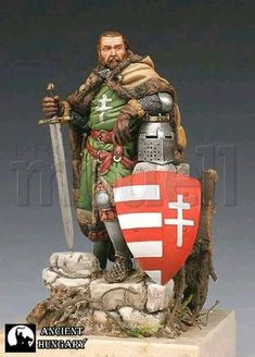 Hungarian Tattoo, Hungarian Embroidery, Hungary History, Old King, Folk Dance, Knights Templar, Mountain Man, Military History, Coat Of Arms