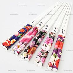 Happy Sales 5 Pairs Chopsticks Flower & Leaves Design White #7179 Happy Sales http://www.amazon.com/dp/B0128Y7ANU/ref=cm_sw_r_pi_dp_Dkozwb06W0023