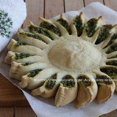 A Sunny Spinach Pie