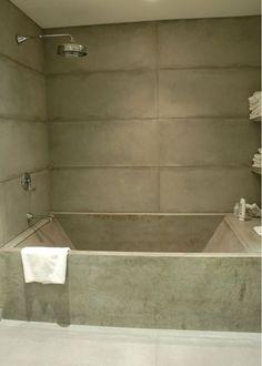Concrete Tub, Concrete Shower Tubs and Showers Stone Soup Concrete Easthampton, MA