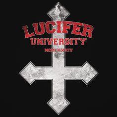Blue Banana Occult Lucifer University Cross