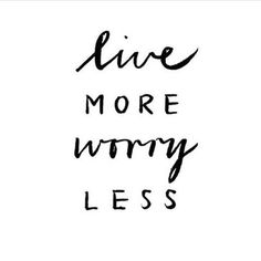 I've got to focus on this motivation. To worry less, and to ease my mind when anxieties take over. Motivacional Quotes, Tumblr Quotes, Cute Quotes, Great Quotes, Words Quotes, Quotes To Live By, Yoga Quotes, The Words, Citations Tumblr