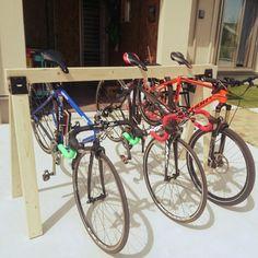 agassiさんの、ソーホースブラケット,2×4,DIY,マウンテンバイク,MTB,ロードバイク,玄関/入り口,のお部屋写真