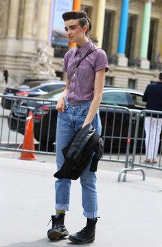 Grace Hartzel in Paris Grand Palais | Street Fashion | Street Peeper | Global Street Fashion and Street Style
