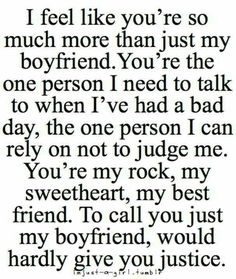 Cute Boyfriend Quotes for Him 49 Cute and Funny Boyfriend Quotes and Sayings for him with images. Win every boy with these beautiful boyfriend quotes and images for the one you love.These These may refer to: Now Quotes, Couple Quotes, Quotes To Live By, Life Quotes, Baby Quotes, Sweet Quotes, Humor Quotes, Crush Quotes, Movie Quotes