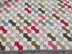 Close up of Bella Bowtie quilt