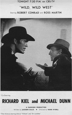 Richard Kiel & Michael Dunn in The Wild Wild West
