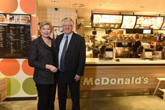 Guy Hands tucks into Nordic McDonald's franchise  Guy Hands and his wife Julia have chomped down on McDonald's operations in the Nordic countries, becoming the burger chain's main franchise owner.