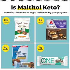 It can be tricky deciphering ingredients on labels to find what you feel good about. Pure Protein Bars, Fat For Fuel, Isomalt, Keto Pancakes, Ketogenic Lifestyle, Free Candy, Diabetic Friendly, Keto Diet For Beginners, No Carb Diets