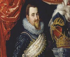 The legendary Danish king Christian IV who built Frederiksborg Castle in the beginning of the century Royal Crown Jewels, Danish Royalty, Old Portraits, National History, Danish Royal Family, The Past, Old Things, Museum, Christian