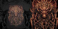 """Preying"" t-shirt design by olinokus"